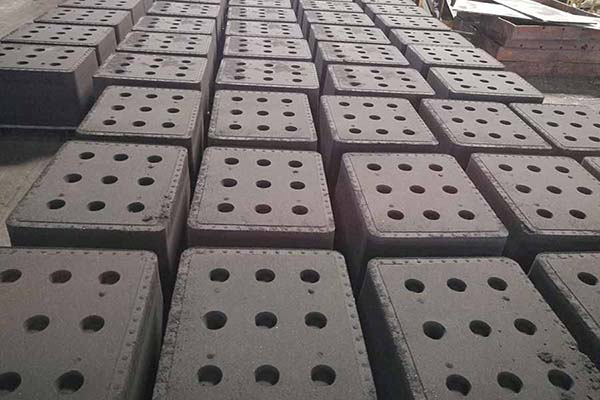 green sand mould for cast iron foundry
