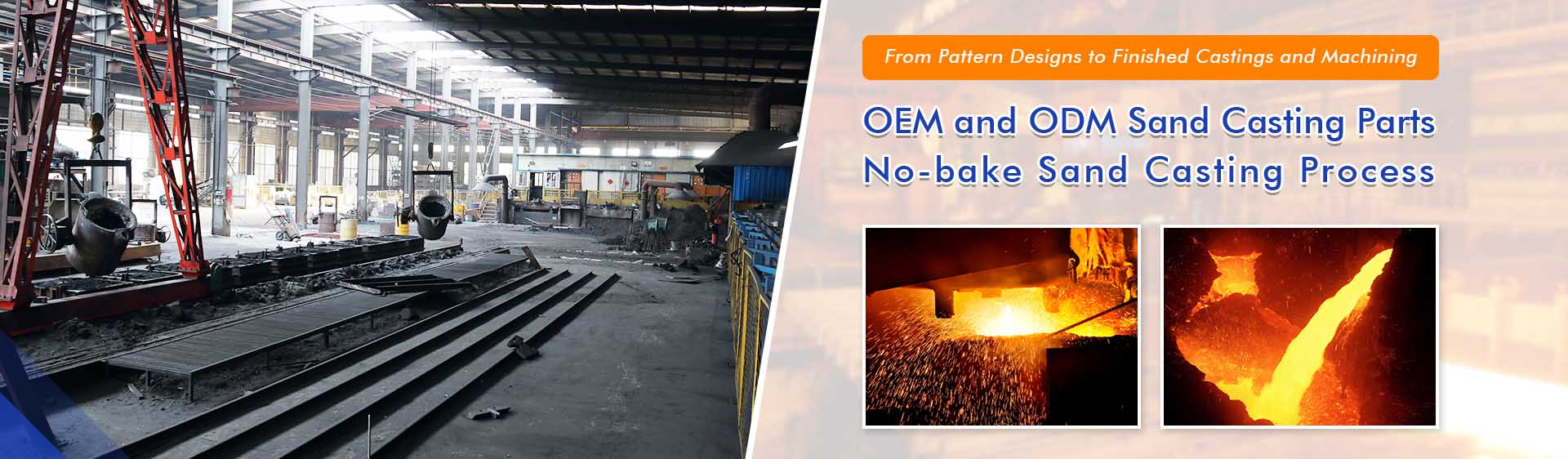 Gray and Ductile Iron Sand Casting Foundry
