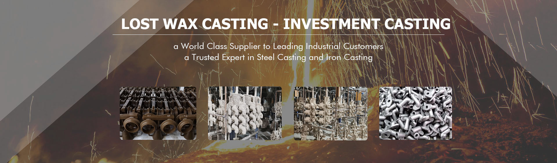 Steel Lost Wax Investment Casting Foundry